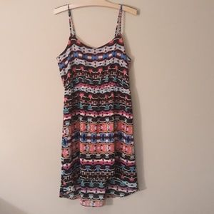 Nicole Miller Fun Print Dress New Without Tags